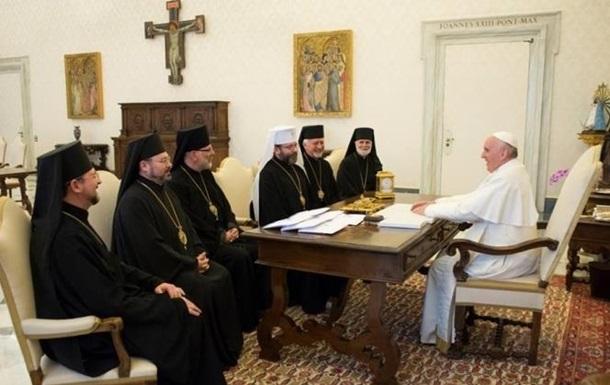 Глава УГКЦ: Папа Римський нас почув