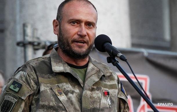 Ярош підтвердив наявність зброї на Майдані
