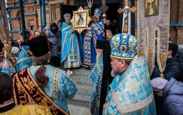 Сьогодні на Полтавщині можна помолитися чудотворній іконі