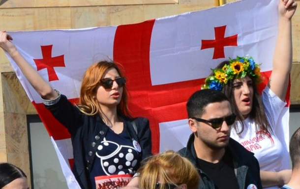 Оппозиция Грузии провела акцию против переговоров с Газпромом