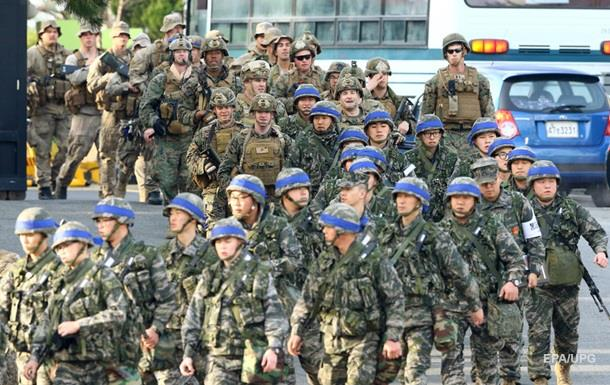 США і Південна Корея почали військові навчання