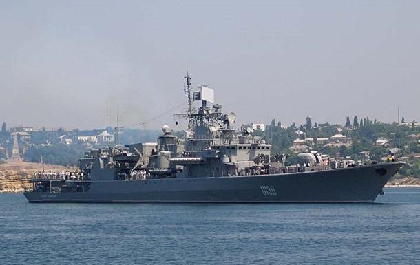 Украина и Турция провели тактические учения в Мраморном море