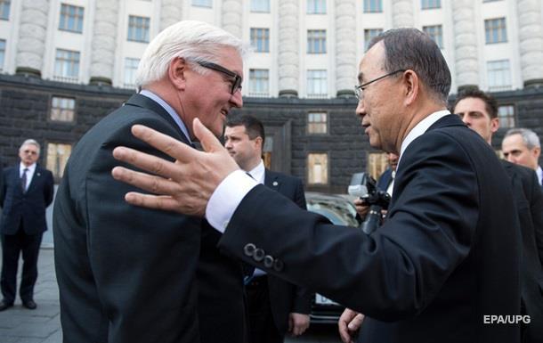 Генсек ООН і глава МЗС ФРН обговорили Україну