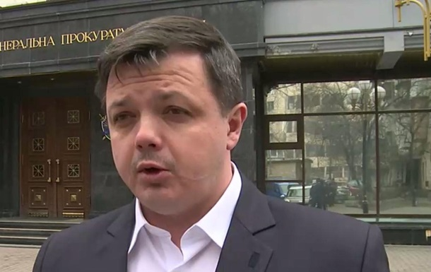 Семенченко приехал под ГПУ  на допрос