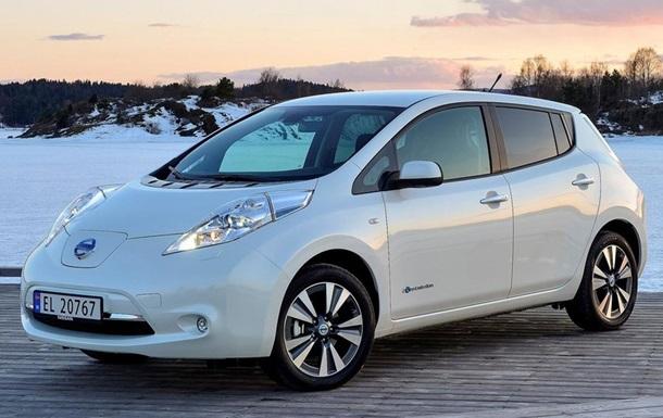 В Украине резко выросли продажи электромобилей