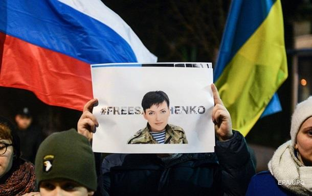 В Санкт-Петербурге задержали активистов за поддержку Савченко