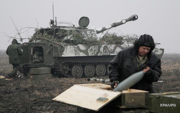Біля Донецька застосовують важку артилерію - штаб АТО