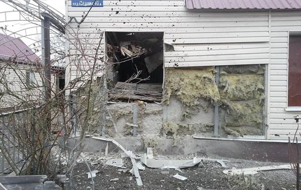 Опубліковані фото Авдіївки після обстрілів