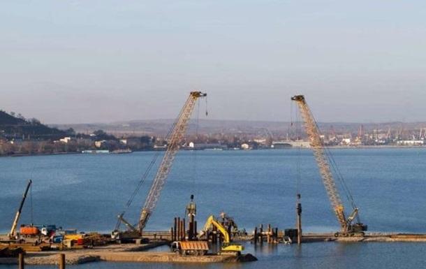 Появились новые фото и видео постройки Керченского моста
