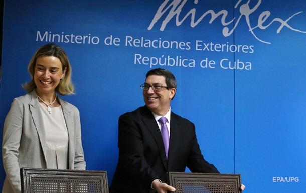 Куба и Евросоюз подписали договор о сотрудничестве