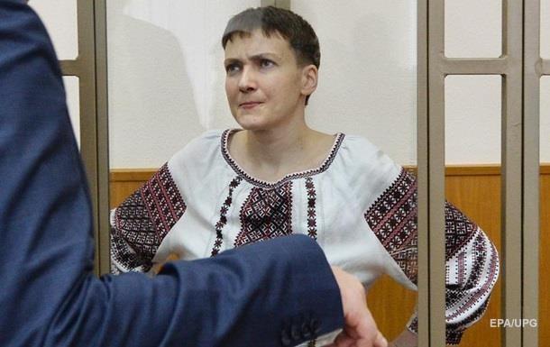 Вере Савченко ничего не известно о состоянии здоровья сестры