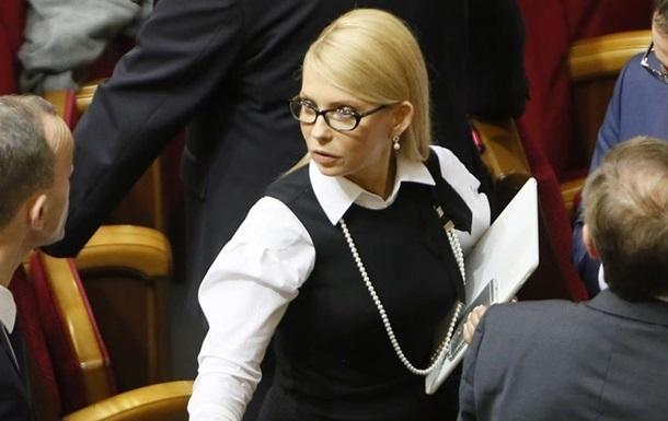 Тимошенко призывает Раду рассмотреть отставку Яценюка 15 марта