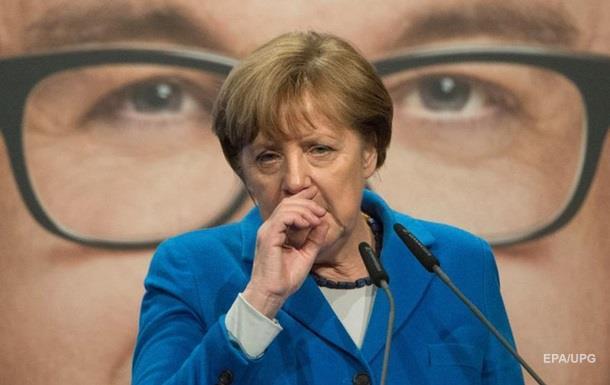 Партія Меркель програла у двох регіонах з трьох