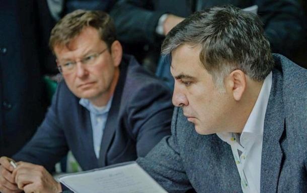 Саакашвили опровергает создание партии