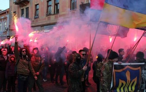 Украинские националисты против евроинтеграции Закарпатья