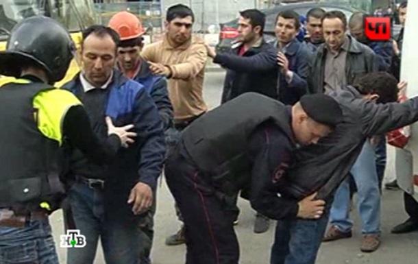 Півсотні уродженців Середньої Азії побилися в Москві