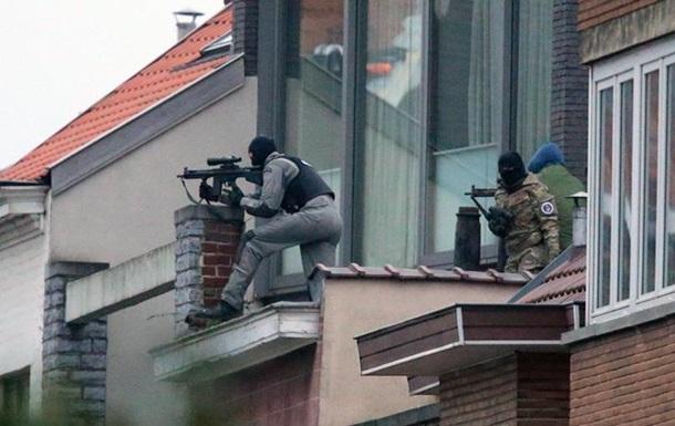 Рейд у Брюсселі: одного з підозрюваних убито