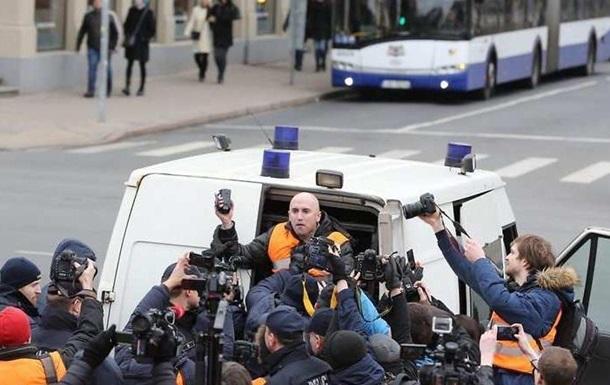 У Ризі поліція затримала журналіста Грема Філліпса