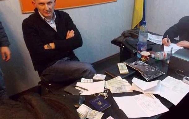 СБУ задержала экс-главу полиции Винницкой области