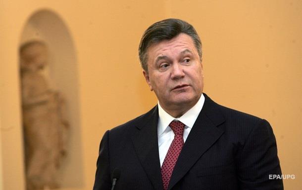 РФ відмовляється підтверджувати місцеперебування Януковича