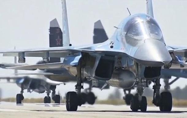 Пентагон: Росія вивела частину авіації із Сирії