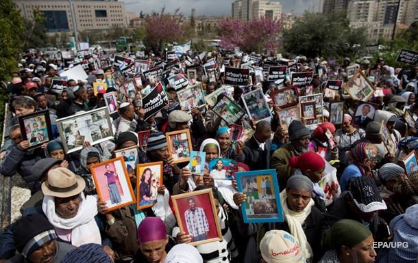 Выходцы из Эфиопии провели акцию протеста в Иерусалиме