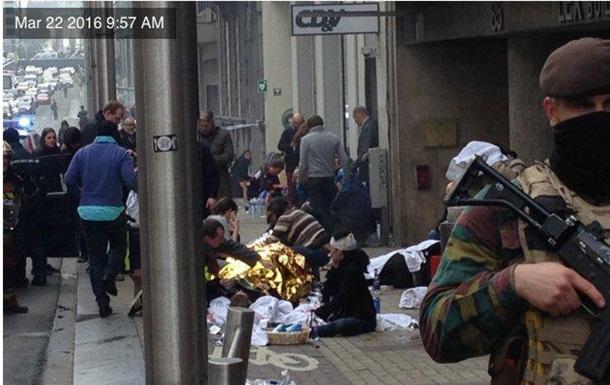 Жертвами вибухів у Брюсселі стали 23 людини