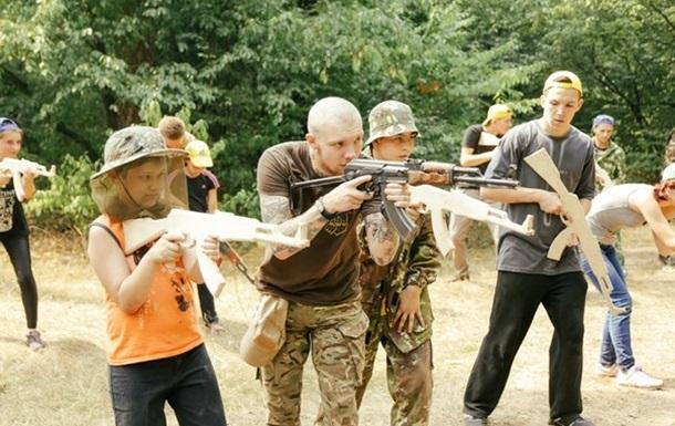 Детские лагеря военно-патриотической подготовки по типу «Азовец» переведут на го