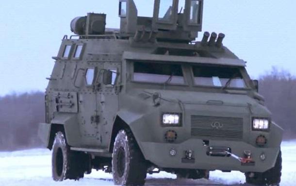 В Украине презентовали бронемашину Барс-8