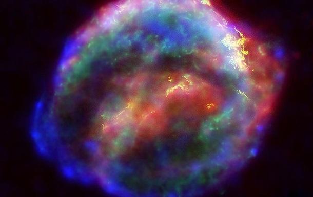 NASA показало вибух наднової зірки