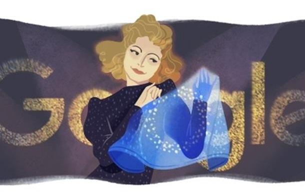 Google присвятив дудл співачці Клавдії Шульженко