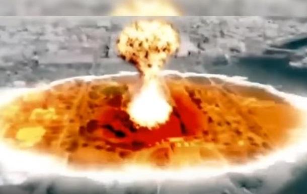 Северная Корея показала  ядерный удар  по США