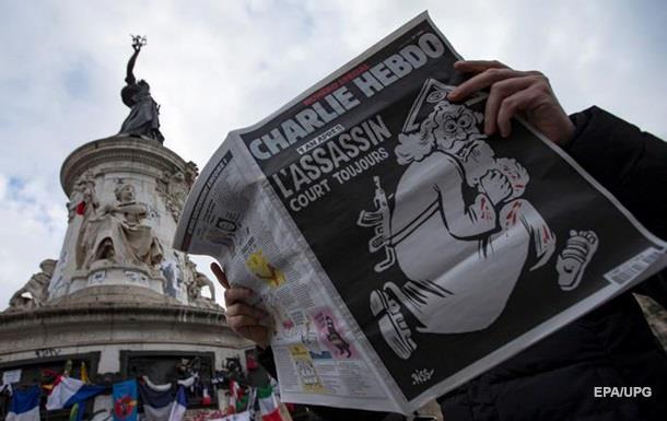 Charlie зробив карикатуру на теракти в Брюсселі