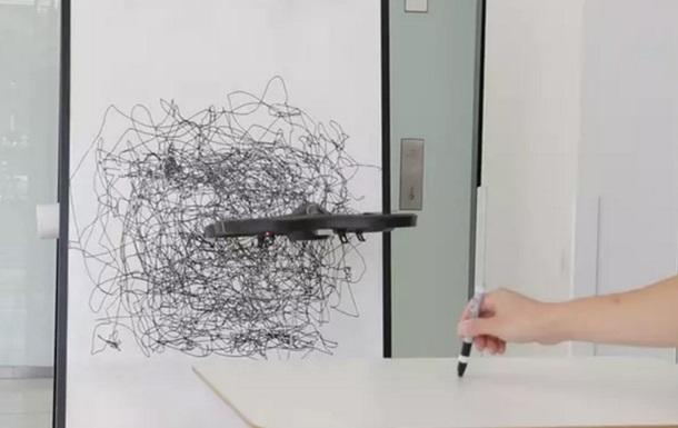 Создан дрон-художник, рисующий абстракции