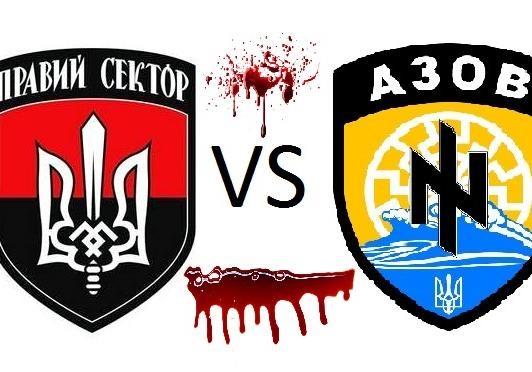 «Азов» vs «Правый сектор». Киев убирает конкурентов
