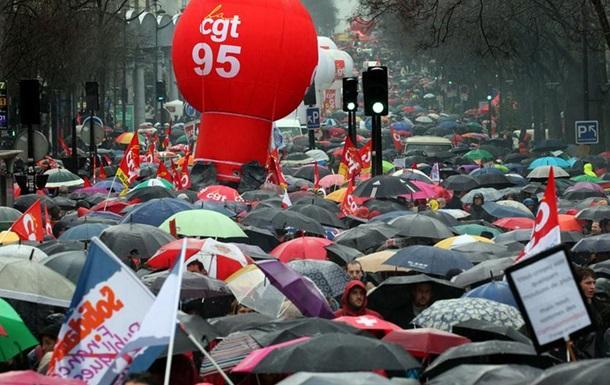 Протести у Франції: сотні тисяч демонстрантів і сутички з поліцією