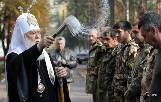 Філарет про причини війни: На сході України безбожників більше