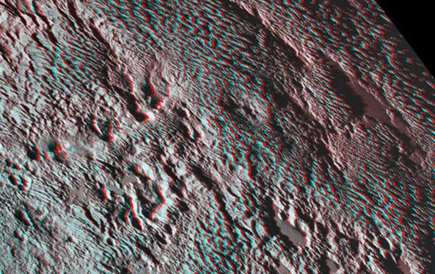 NASA показало знімок  зміїної шкіри  Плутона
