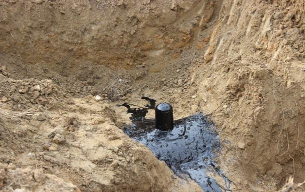 На території військової частини знайшли врізку в нафтопровід Дружба