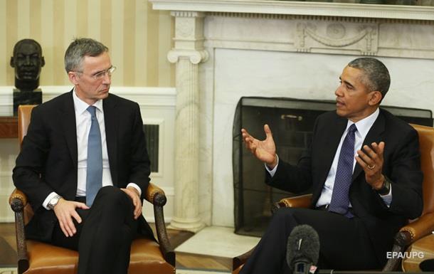 Обама обговорив зі Столтенбергом проблему біженців та боротьбу з ІД