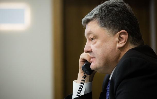 Порошенко поспілкувався з Надією Савченко
