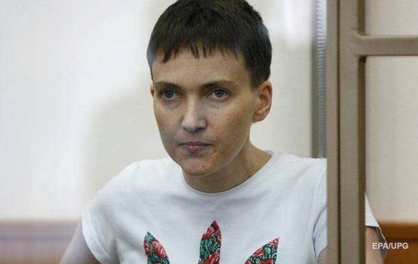 Савченко начала сухую голодовку - адвокат