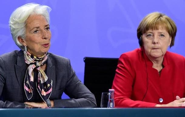 Меркель та Лагард вимагають рішучої боротьби з корупцією в Україні