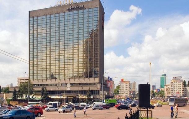 У Києві захопили готель  Либідь  - МВС