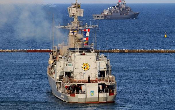 Украина и Турция провели учения в Черном море