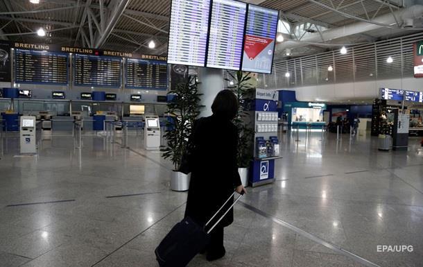 У Греції через страйк закрилися всі аеропорти
