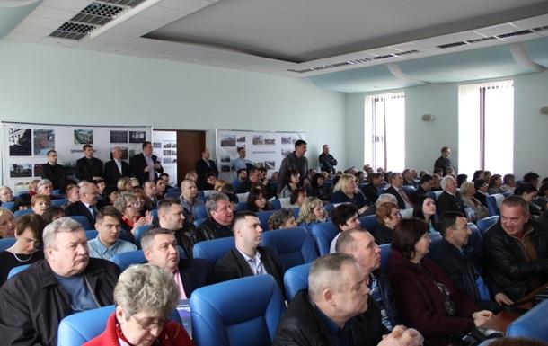 У Лисичанську презентували програму відновлення Донбасу