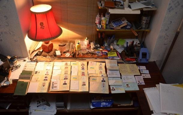 СБУ прикрыла типографию по изготовлению фальшивых паспортов