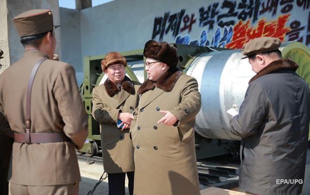 Северная Корея испытала двигатель баллистической ракеты