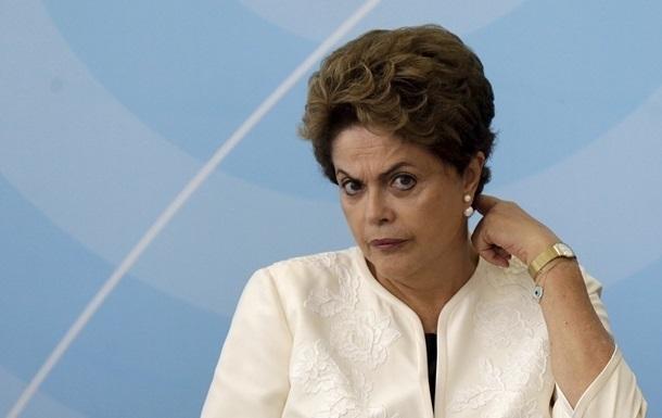 Президент Бразилії заявила про  змову  проти неї
